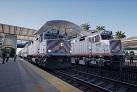 First-person simulation game puts users at the controls of a Caltrain locomotive